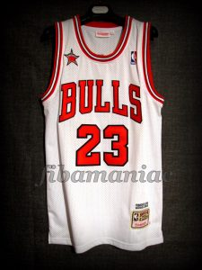 1998 NBA All Star MVP Chicago Bulls Michael Jordan Jersey - Front