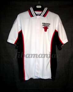 1996/1998 NBA Chicago Bulls Warm Up - Front