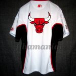 90's Chicago Bulls Warm Up - Back