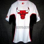90's Chicago Bulls Warm Up - Back