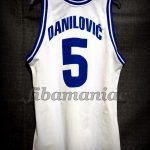 1999 Eurobasket Bronze Medallists Yugoslavia Predrag Danilovic Jersey - Back
