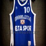 1998 World Cup Champions Yugoslavia Sasha Djordjevic Jersey - Front