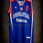 "2002 World Cup Champions Predrag ""Peja"" Stojakovic Jersey - Front"