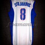 """2005 Pre-Eurobasket Yugoslavia Predrag """"Peja"""" Stojakovic Jersey - Back"""