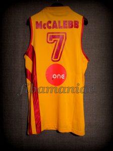2011 Eurobasket All-Tournament Team Macedonia Bo McCalebb Jersey - Back