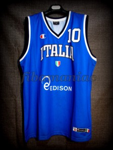 2013 Eurobasket Italy Marco Belinelli Jersey Front – Signed