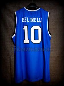 2013 Eurobasket Italy Marco Belinelli Jersey Back – Signed