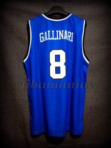 2013 Eurobasket Italy Danilo Gallinari Jersey - Back