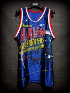 1998 Harlem Globetrotters 20.000th Game Special Ed. Jersey - Front