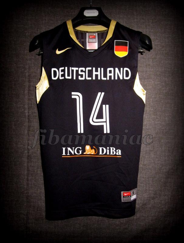 f0840724e7c4 Beijing 2008 Olympic Games Germany Dirk Nowitzki Jersey – FibaManiac