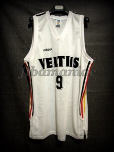 1995 Eurobasket Germany Christian Welp Jersey - Front