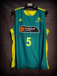 2012 Pre-Olympic Training Camp Australia Patrick Mills Jersey - Front