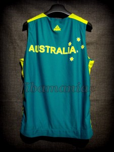 2012 Pre-Olympic Training Camp Australia Patrick Mills Jersey - Back