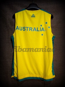 2012 Pre-Olympic Training Camp Australia Patrick Mills Jersey - Reverse Back