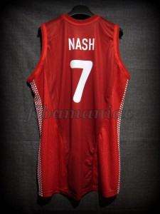 Sydney 2000 Olympic Games Best Assistant Canada Steve Nash Jersey - Back
