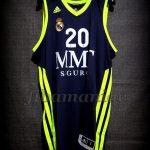 2012/2013 Euroleague Jaycee Carroll Jersey Front - Signed