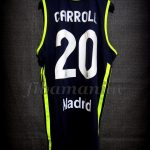2013 ACB Champions Real Madrid Jaycee Carroll Jersey Back - Signed