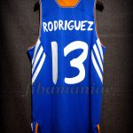 2013/2014 Euroleague MVP Real Madrid Sergio Rodríguez Jersey - Back