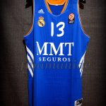 2013/2014 Euroleague MVP Real Madrid Sergio Rodríguez Jersey - Front