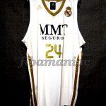 2011/2012 NBA Lockout Season Real Madrid Serge Ibaka Jersey - Front