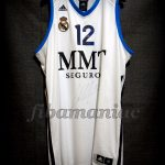 2013 ACB MVP Real Madrid Nikola Mirotic Jersey Front - Signed