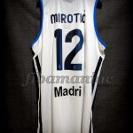 2013 ACB MVP Real Madrid Nikola Mirotic Jersey Back - Signed