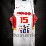 2014 World Cup Spain Álex Abrines Jersey Front – Issued & signed