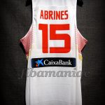2014 World Cup Spain Álex Abrines Jersey Back – Issued & signed