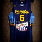 "2014 ""Ruta Ñ"" Spain Sergio Rodríguez Jersey Front - Issued"