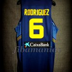"2014 ""Ruta Ñ"" Spain Sergio Rodríguez Jersey Back - Issued"