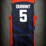 London 2012 Olympic Games USA Basketball Kevin Durant Hyper Elite Jersey - Back