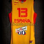 2013 Eurobasket All-Tournament Team Spain Marc Gasol Jersey - Front