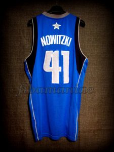 2011 NBA Finals MVP Dallas Mavericks Dirk Nowitzki Jersey - Back