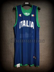 Athens 2004 Olympic Games Italy Training Jersey - Reverse Front