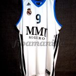 2013 ACB Finals MVP Real Madrid Felipe Reyes Jersey - Front