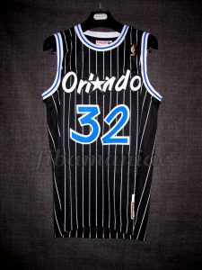 1993 NBA Rookie of the Year Orlando Magic Shaquille O'Neal Jersey - Front