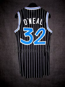 1993 NBA Rookie of the Year Orlando Magic Shaquille O'Neal Jersey - Back