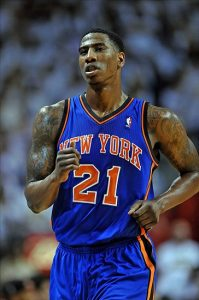 Iman Shumpert in action with the jersey