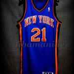 2012 NBA All-Rookie First Team New York Knicks Iman Shumpert Jersey - Front
