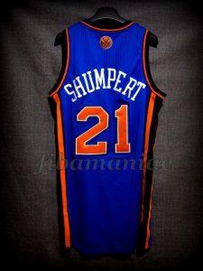 2012 NBA All-Rookie First Team New York Knicks Iman Shumpert Jersey - Back