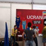 The Ukraine's tent