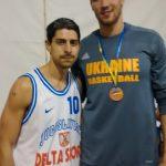 With a really big man: Slava Kravtsov
