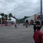 More tents of the Fan Zone