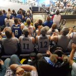"""So new seat for the Finland game. With the """"Susijengi"""""""