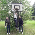 The basket where he started his career xD