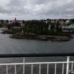 Road to Tallin. Many small islands like this leaving Finland