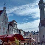 The center of Tallin. Beautiful