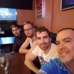 We lived the Finland round of 16 game in a sports bar. Bad day to play the baddest game