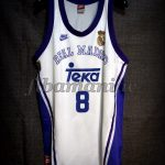 1997 European Cup Winners' Cup Champions Real Madrid Joe Arlauckas Jersey Front - Signed