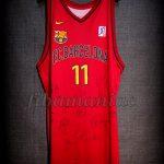 2000 Euroleague Final Four FCBarcelona Milan Gurovic Jersey Front - MW & Signed
